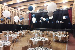 Configuration mariage du Centre culturel Jovence